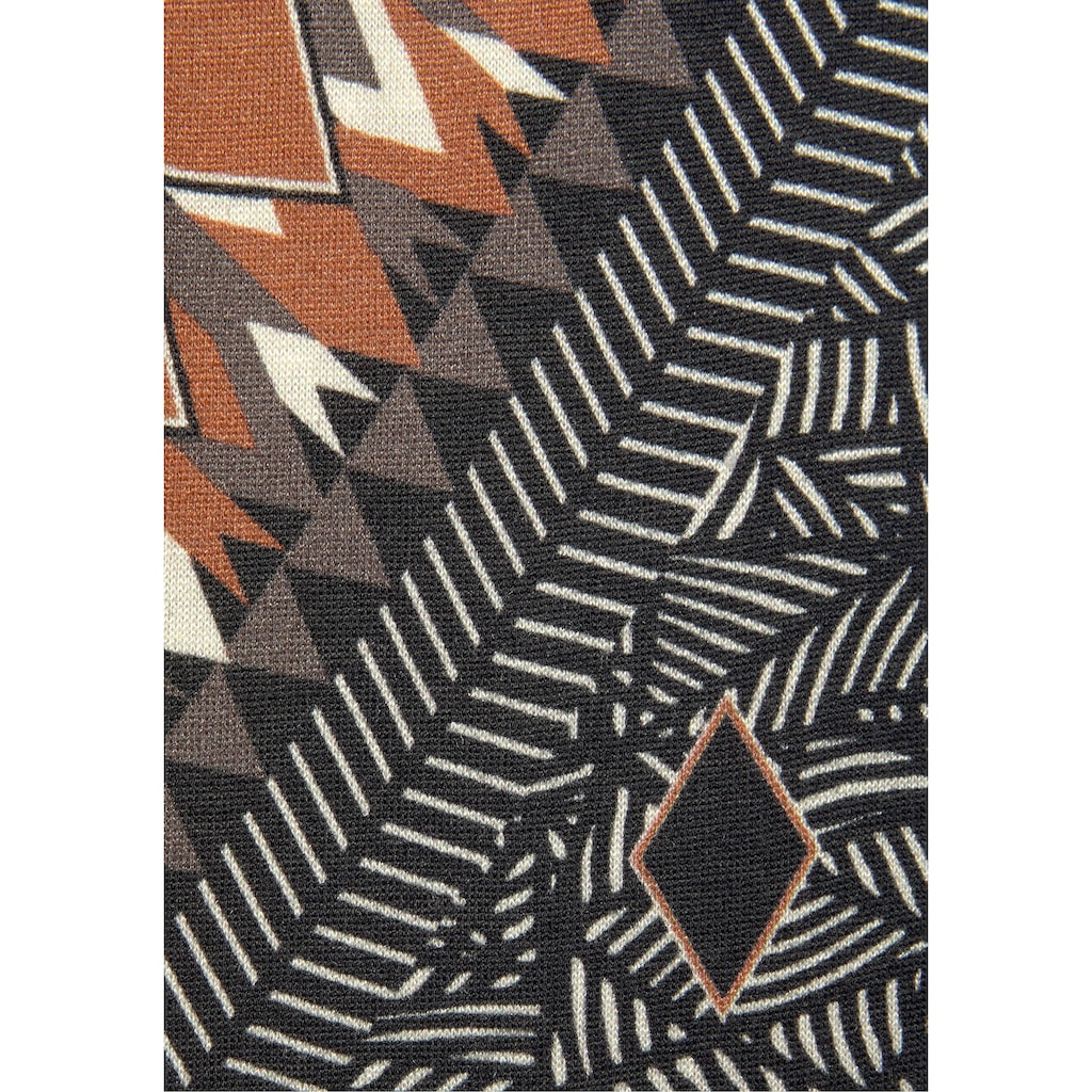 LASCANA Pyjama, mit Ethno-Muster