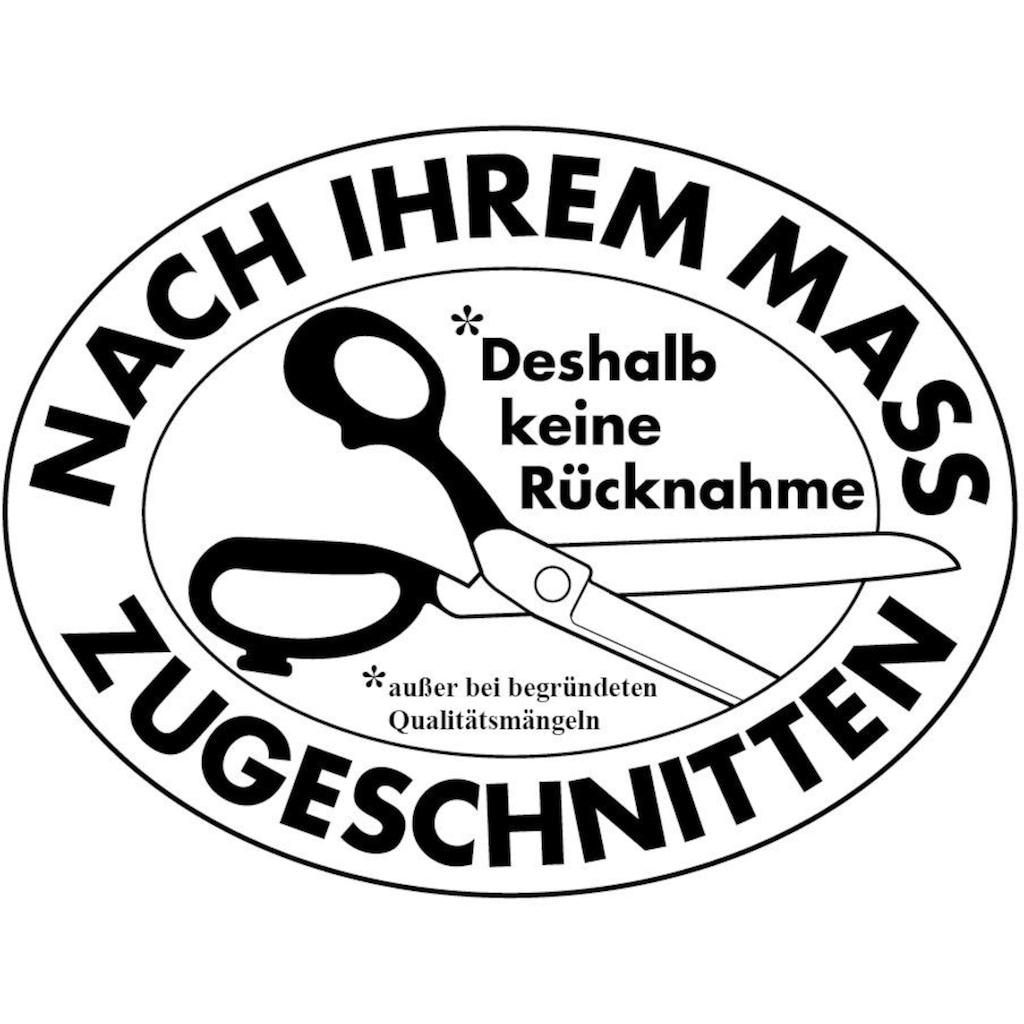GARESA Gardinenschiene »Schleuderschiene 400, mit Rundbögen«, 1 läufig-läufig, Wunschmaßlänge