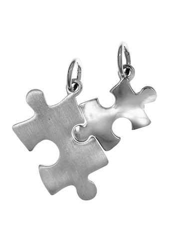 Vivance Kettenanhänger »925/- Sterling Silber 2tlg. Puzzle«, Anhänger kaufen