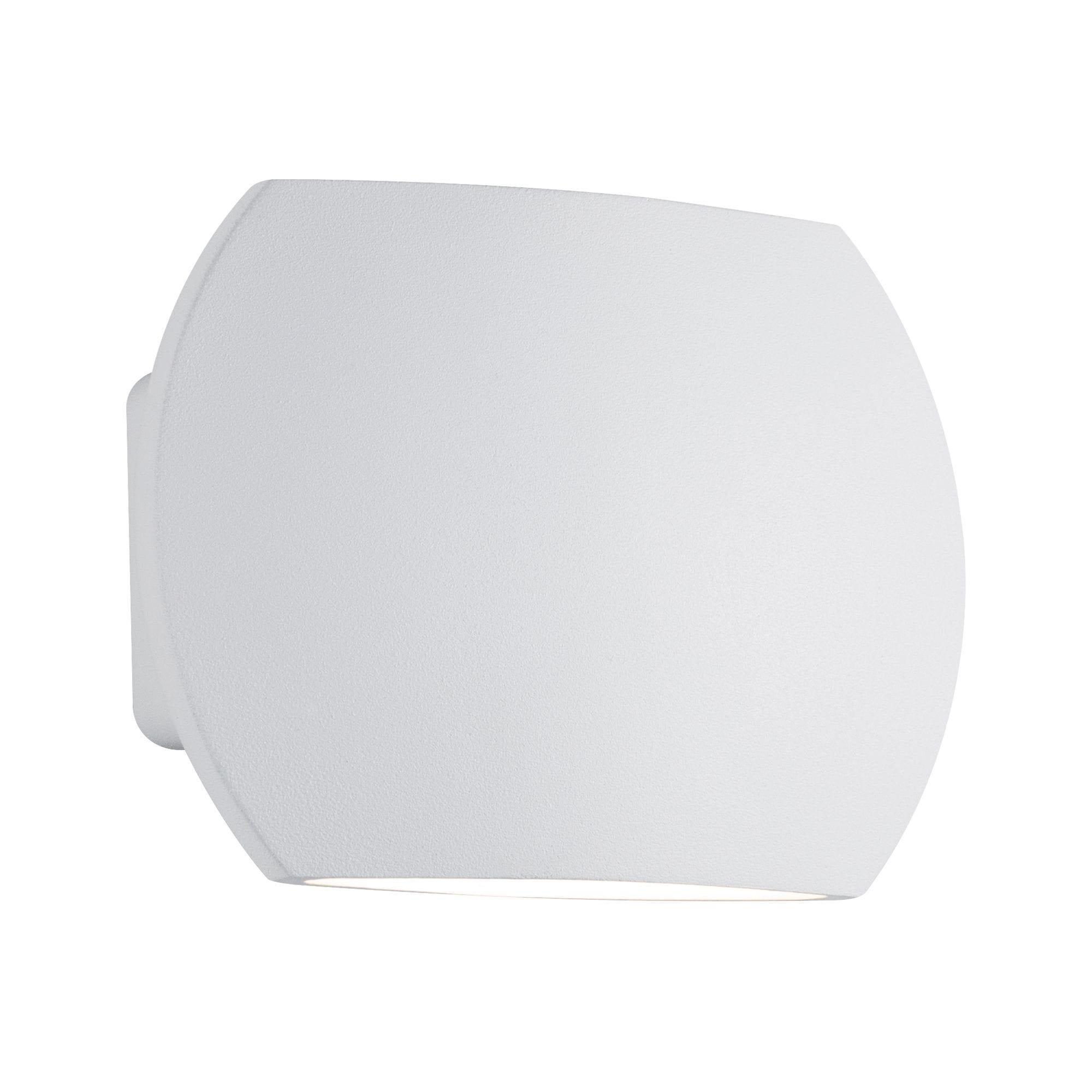 Paulmann LED Wandleuchte Bocca 2x3W Weiß, 1 St., Warmweiß