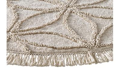 Teppich ODEN mit effektvoller Hoch - /Tiefstruktur aus Baumwolle kaufen