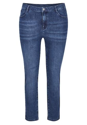 Rabe 5-Pocket-Jeans, mit Waschung und Ziersteinen kaufen