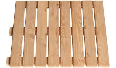 BM Massivholz Holzfliesen, Lärche, 50x50 cm, 10 m² kaufen