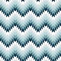 queence Kissenhülle »Blau & Weiß Muster«, (1 St.)