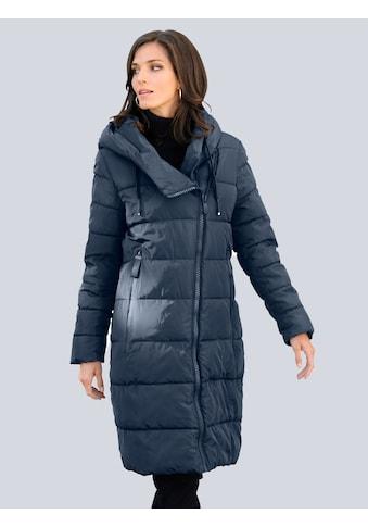 Alba Moda Steppmantel, allover im Querstepp kaufen