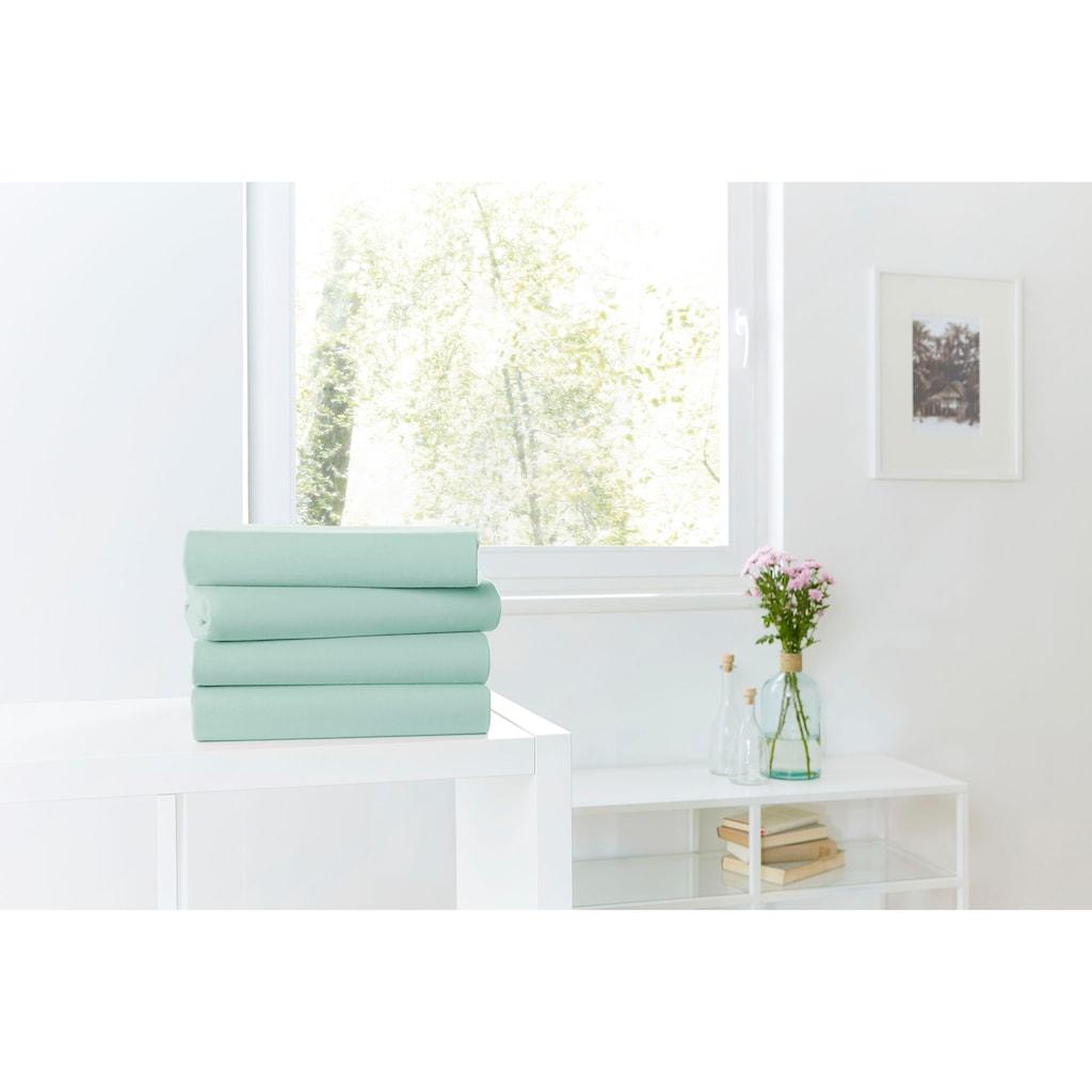 Primera Spannbettlaken »Mako-Jersey Bio«, aus reiner, zertifizierter Bio-Baumwolle