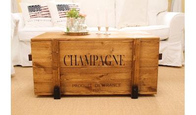 """Uncle Joe´s Truhentisch »""""Champagne""""«, im Vintage-Look kaufen"""