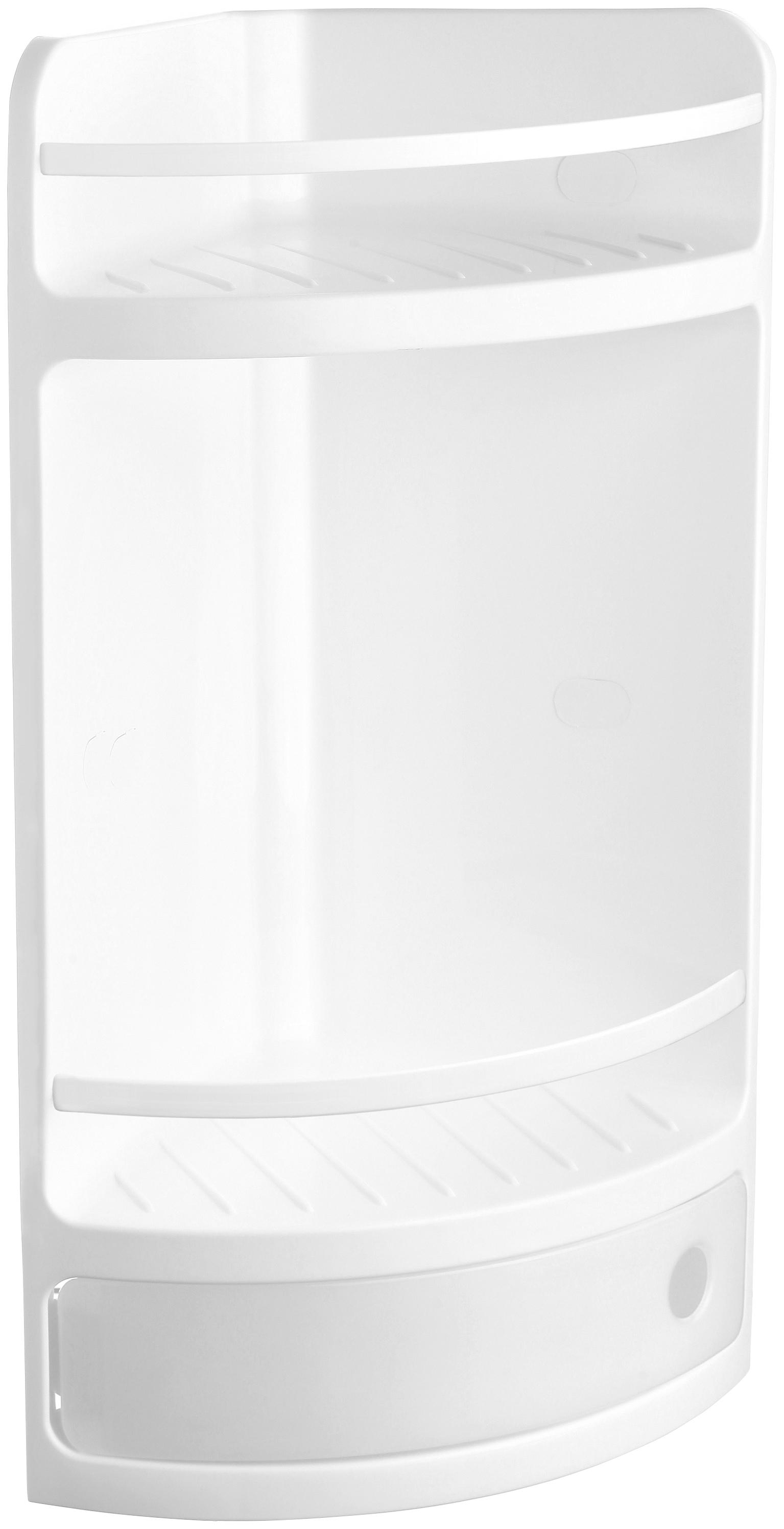 Sanotechnik Eckregal, Breite: 20 cm weiß Eckregal Eckregale Regale