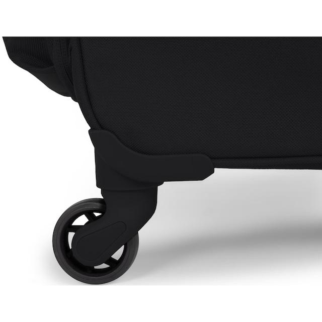 "United Colors of Benetton Weichgepäck-Trolley ""Blow, 57 cm, black"", 4 Rollen"