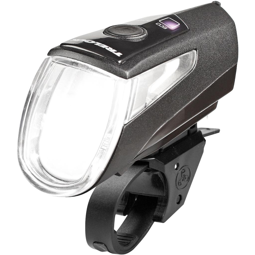 Trelock Fahrrad-Frontlicht »LS 460 I-GO POWER 40 AKKU USB BLACK«