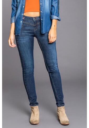 BLUE FIRE Jeans mit modischem Bunddetail »Carly« kaufen