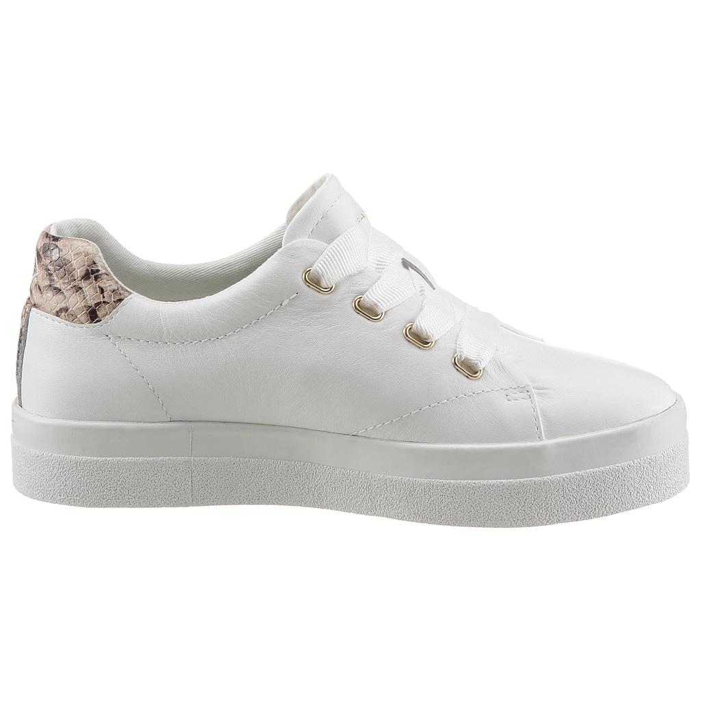 Gant Footwear Plateausneaker »AVONA«, mit Snake-Besatz an der Ferse