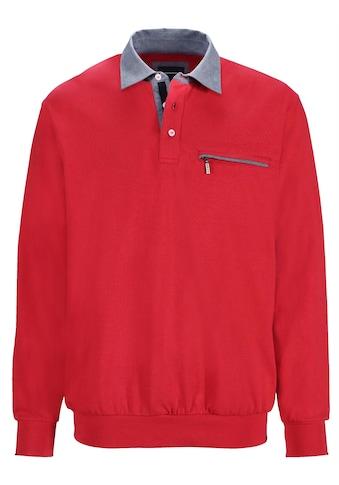 Babista Sweatshirt mit Hemdkragen kaufen