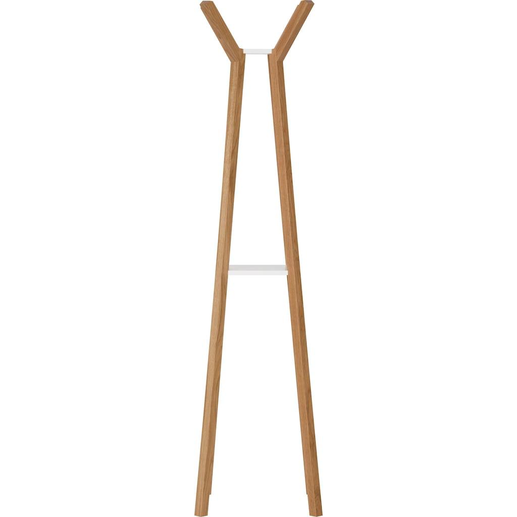 Woodman Garderobe »Monti«, in eichfefarben/weiß