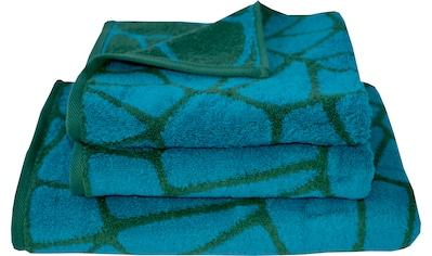 Dyckhoff Handtuch Set »Neo Botanical Cells«, mit graphischem Muster kaufen