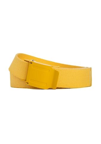 CASSANDRA Stoffgürtel »Yellow«, mit praktischer Klemmschließe kaufen