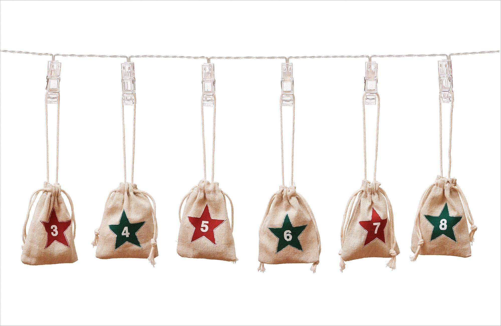 befüllbarer Adventskalender Kindermode/Spielzeug/Basteln, Malen, Kosmetik & Schmuck/Bastelbedarf & -techniken