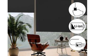 sunlines Seitenzugrollo »Classic Style Akku-Rollo«, verdunkelnd, freihängend, Made in... kaufen