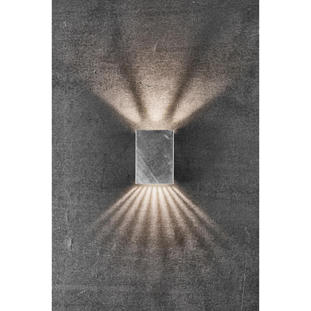 Nordlux LED Wandleuchte »FOLD«, LED-Modul, Warmweiß, Magnetische Halterung, inkl. LED Modul, inkl. 3 Lichtschablonen, Seewasserfest