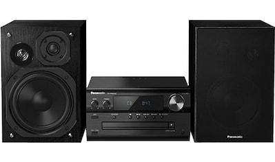 Panasonic »SC - PMX94EG« Microanlage (Digitalradio (DAB+),FM - Tuner mit RDS, 120 Watt) kaufen