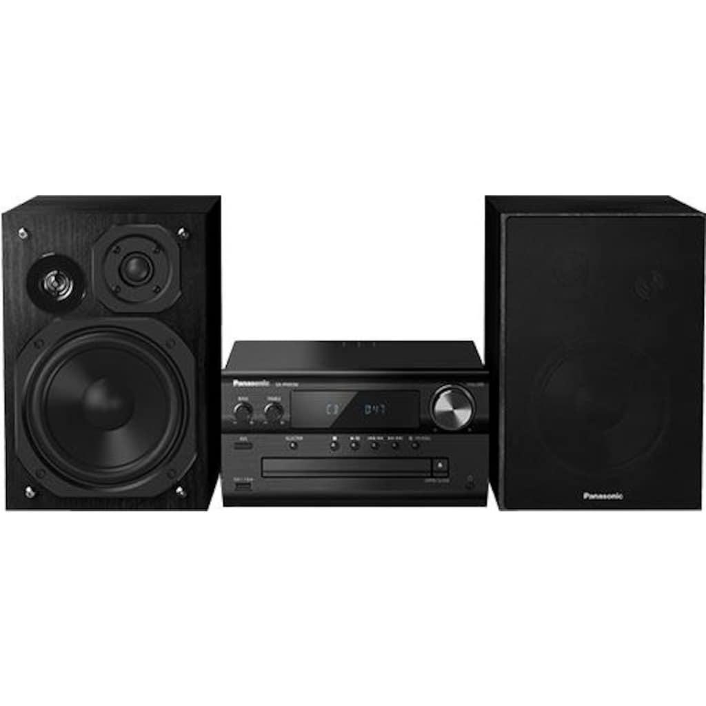 Panasonic »SC-PMX94EG« Microanlage (Digitalradio (DAB+),FM-Tuner mit RDS, 120 Watt)