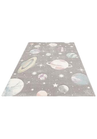 Kinderteppich, »Planeten«, Lüttenhütt, rechteckig, Höhe 13 mm, maschinell gewebt kaufen