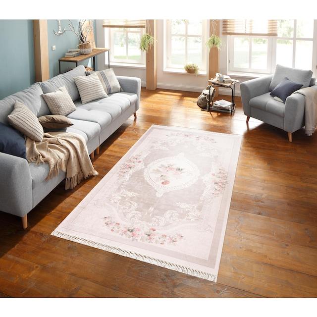 Teppich, »Sunshine 1055«, merinos, rechteckig, Höhe 3 mm, gedruckt
