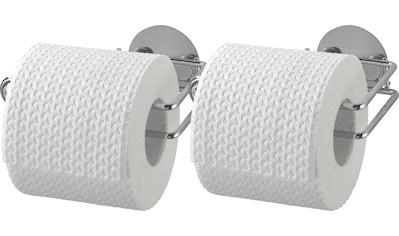 WENKO Toilettenpapierhalter, »Turbo - Loc®«, (Set, 2 - tlg.) kaufen