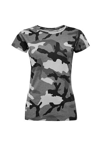 SOLS T-Shirt »Damen mit Tarnmuster, Kurzarm« kaufen