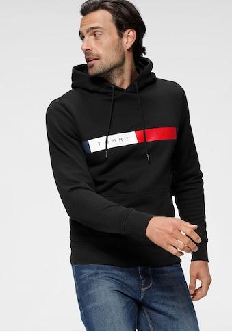 TOMMY HILFIGER Kapuzensweatshirt »RWB LOGO HOODY« kaufen