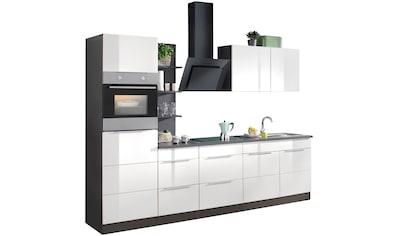 HELD MÖBEL Küchenzeile »Brindisi«, mit E - Geräten, Breite 270 cm kaufen
