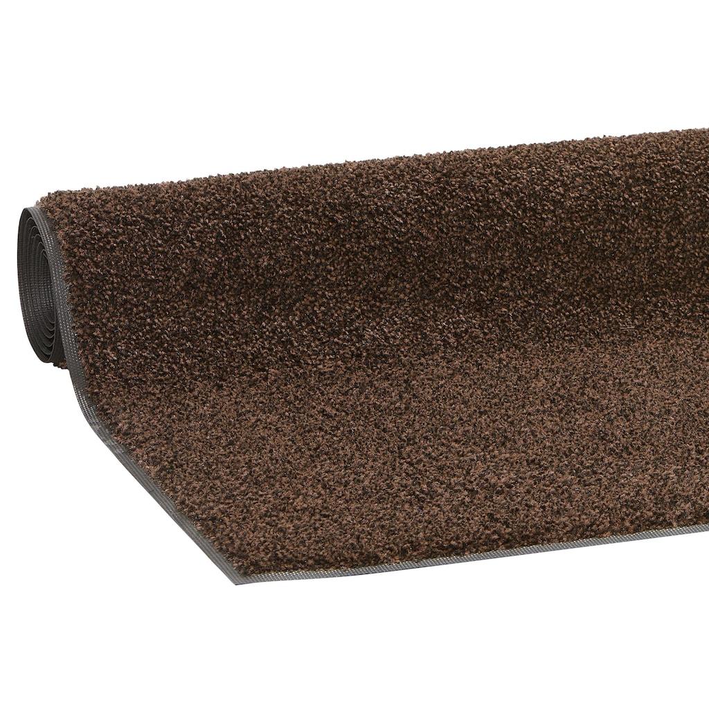 my home Läufer »Ember«, rechteckig, 9 mm Höhe, Schmutzfangläufer, Schmutzfangteppich, Schmutzmatte, In- und Outdoor geeignet