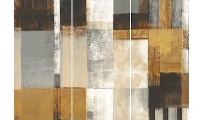 Wandbild »Quadrate Abstrakt  -  Wandbild« (Set) kaufen