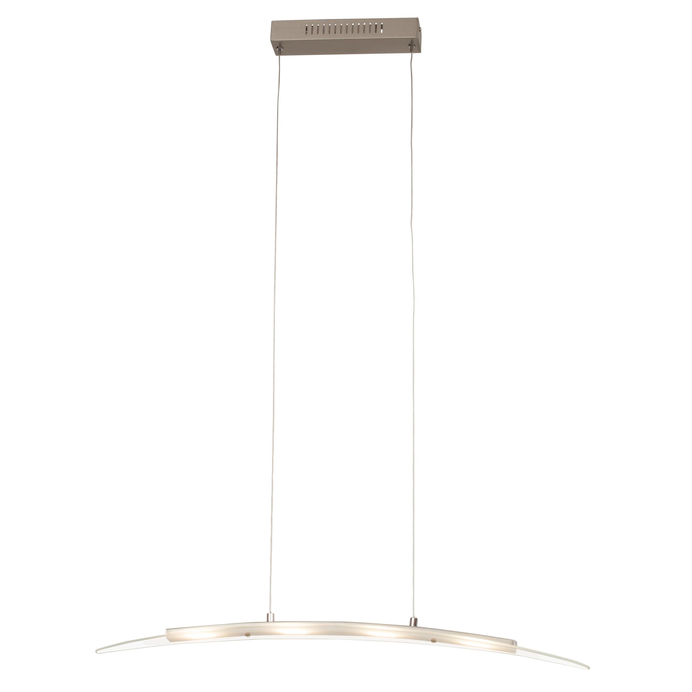 Brilliant Leuchten Panara LED Pendelleuchte 4flg eisen