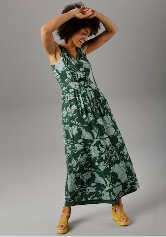 Aniston SELECTED Maxikleid, im farbharmonischen Druck - NEUE KOLLEKTION kaufen
