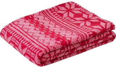 Gözze Wohndecke »Winterzauber«, mit bedruckten Wintermotiven kaufen