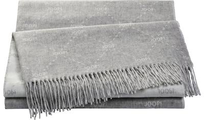 Joop! Plaid »FINE-SIGNATURE«, Weiches Plaid aus hochwertigen Kunstfasern mit... kaufen