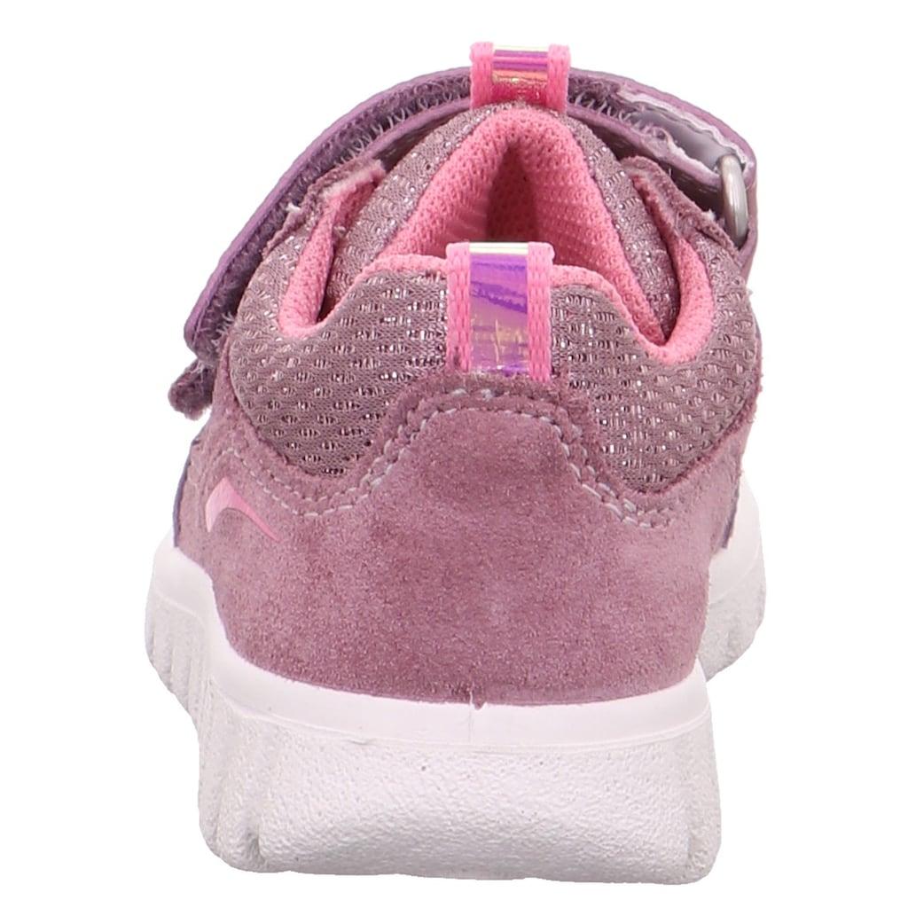 Superfit Sneaker »Sport7 Mini WMS Weiten-Messsystem: mittel«, mit Glitzer