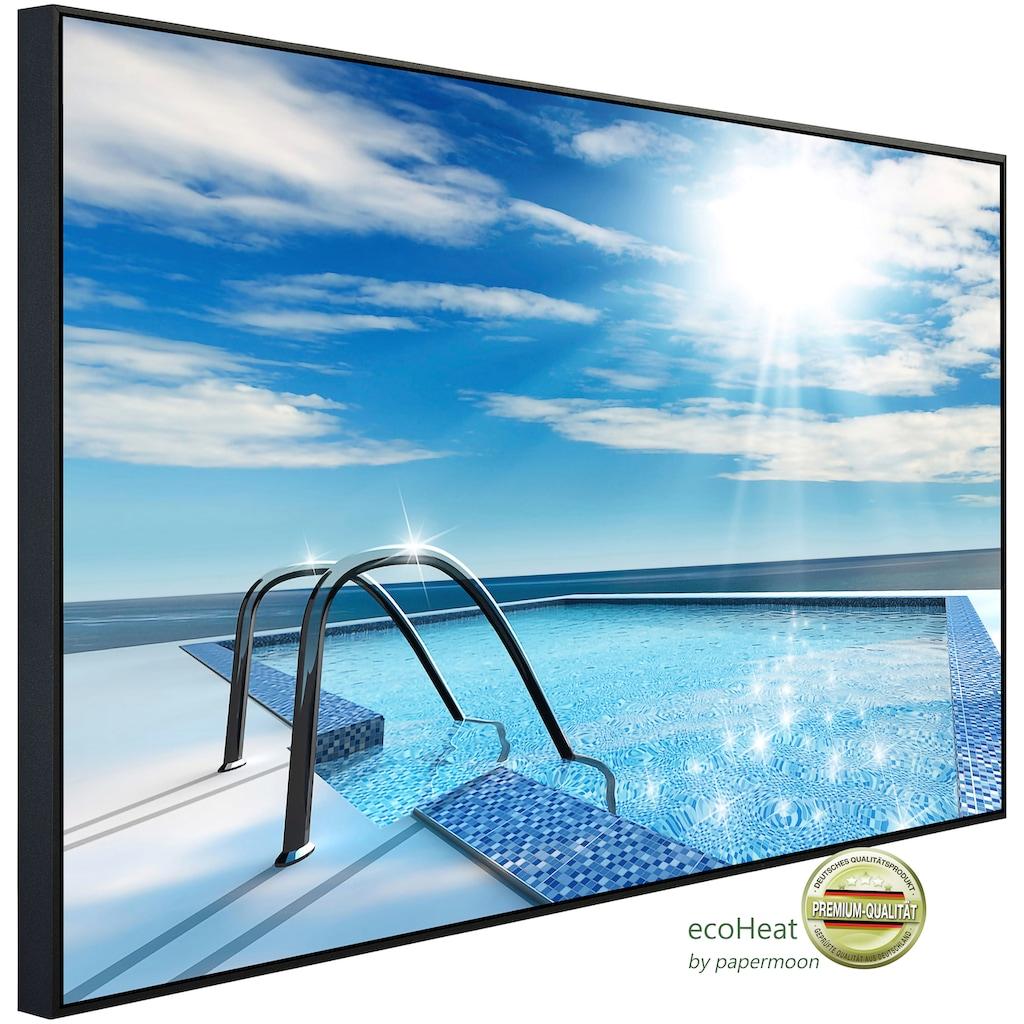 Papermoon Infrarotheizung »Schwimmbad«, sehr angenehme Strahlungswärme
