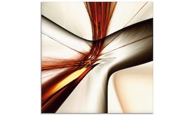 Artland Glasbild »Abstrakt modern«, Muster, (1 St.) kaufen