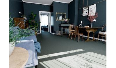 Teppichfliese »Neapel«, quadratisch, 6 mm Höhe, grün, selbstliegend kaufen