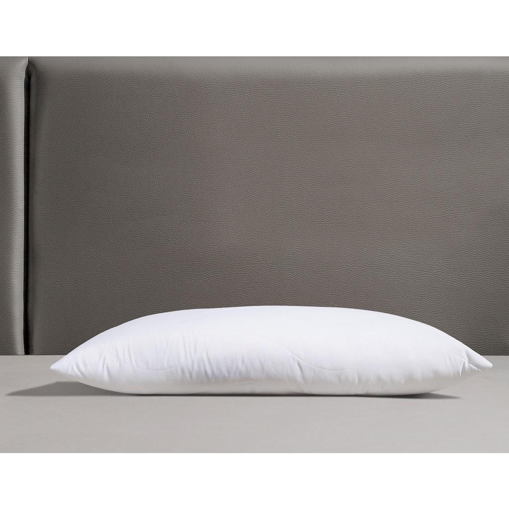 Jekatex Nackenstützkissen »Visko«, Füllung: Viskoschaumstäbchen, Bezug: Polyester, (1 St.), Optimale Stützkraft für Kopf- & Nackenbereich