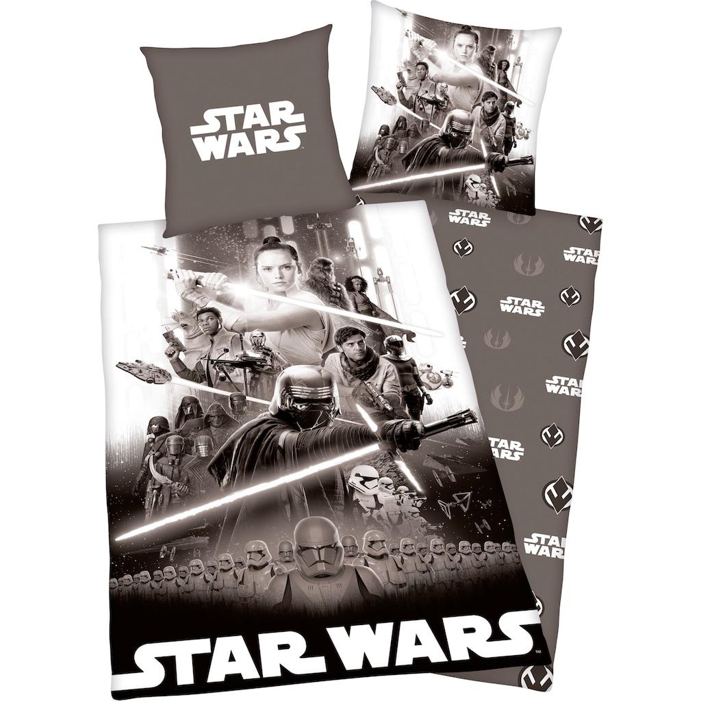 Star Wars Wendebettwäsche »Star Wars«, mit tollem Wendemotiv