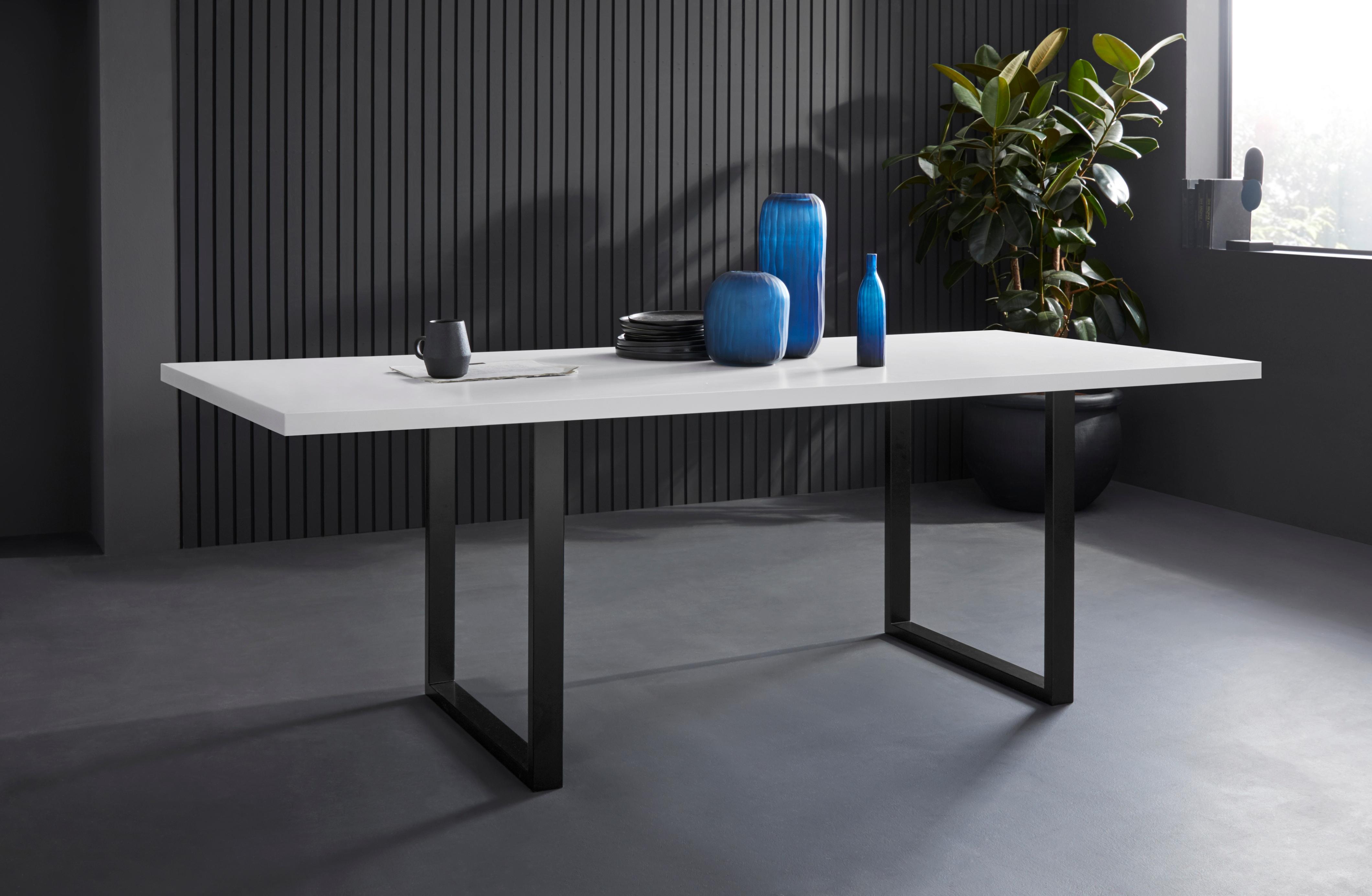 FORTE Esstisch, Breite 180 cm weiß Esstisch Esstische rechteckig Tische
