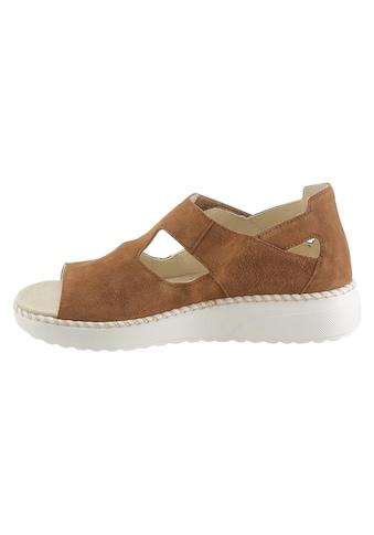 Waldläufer Sandale mit Textil - Wechselfußbett kaufen