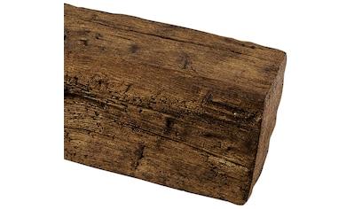 HOMESTAR Dekorpaneele 12 x 12 cm, Länge 2 m, Holzimitat, Eiche dunkelbraun kaufen
