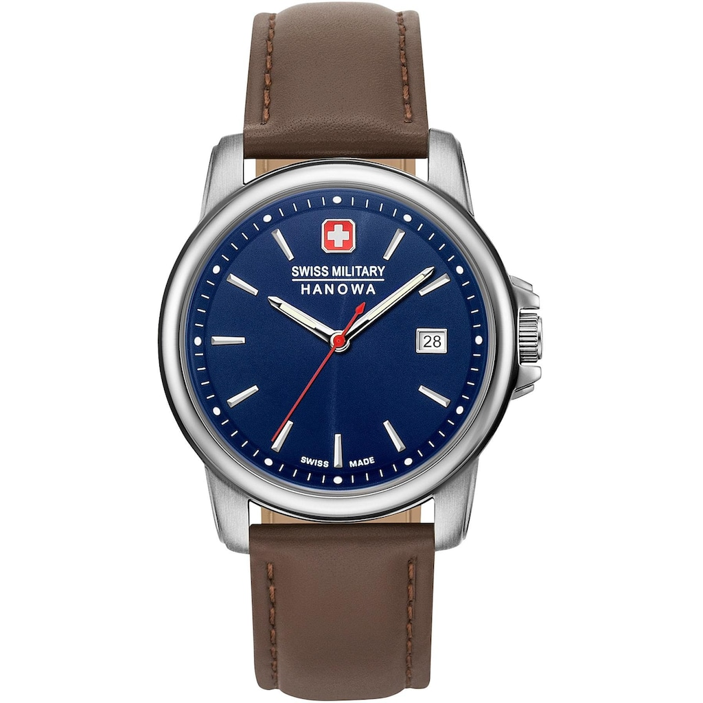 Swiss Military Hanowa Schweizer Uhr »SWISS RECRUIT II, 06-4230.7.04.003«