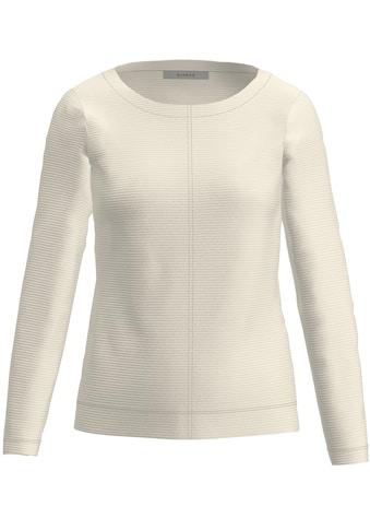 bianca Sweatshirt »DAMI«, in trendiger Ripp-Struktur kaufen