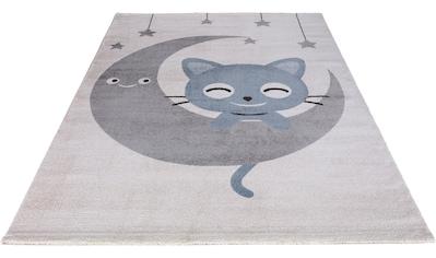 Festival Kinderteppich »Candy 152«, rechteckig, 11 mm Höhe, Motiv Mond Sterne kaufen