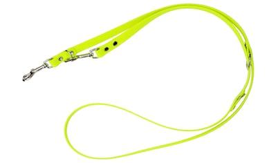 HEIM Hundeleine »Biothane«, neongelb, B: 0,9 cm, versch. Längen kaufen